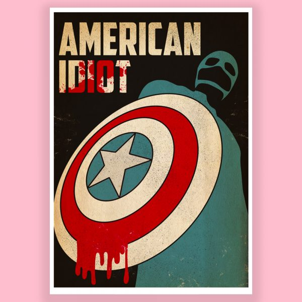 American Idiot Print by HECreative