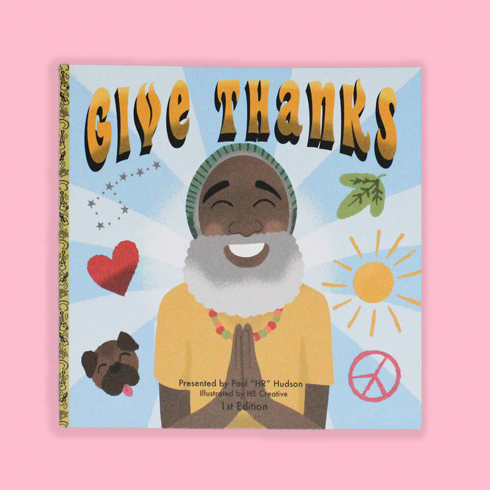 Give Thanks by HR of Bad Brains and HECreative
