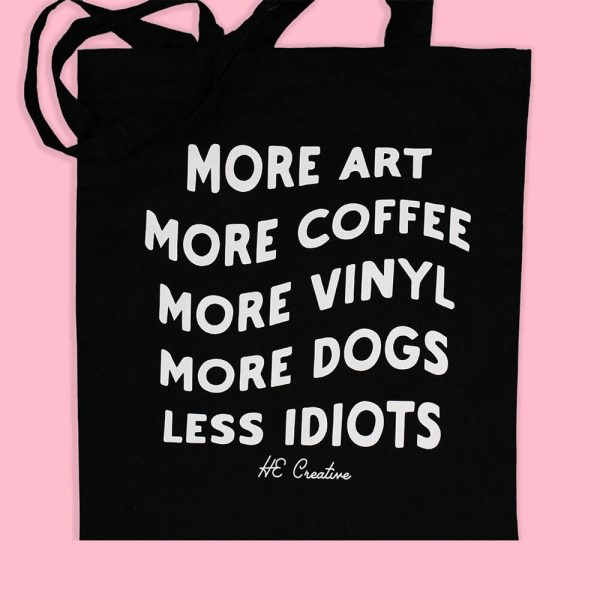 Punk Tote Bag by HECreative