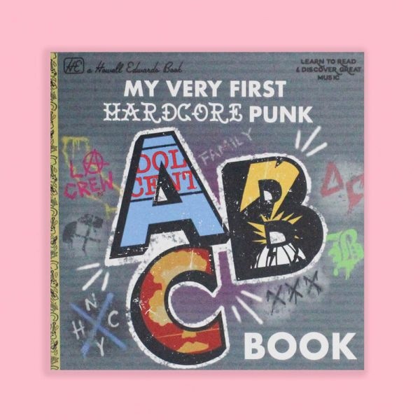 My Very First Hardcore Punk ABC Book by HECreative
