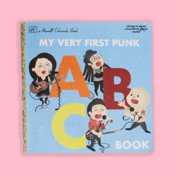 My Very First Punk ABC Book by HECreative