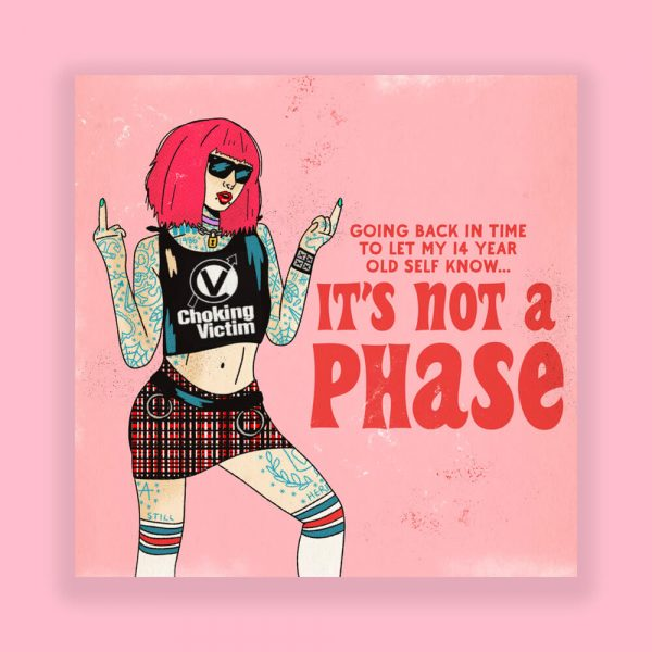 It's Not a Phase Print by HECreative