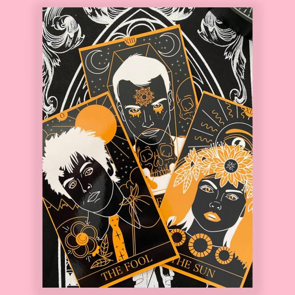 Punk Rock Tarot Cards by HECreative