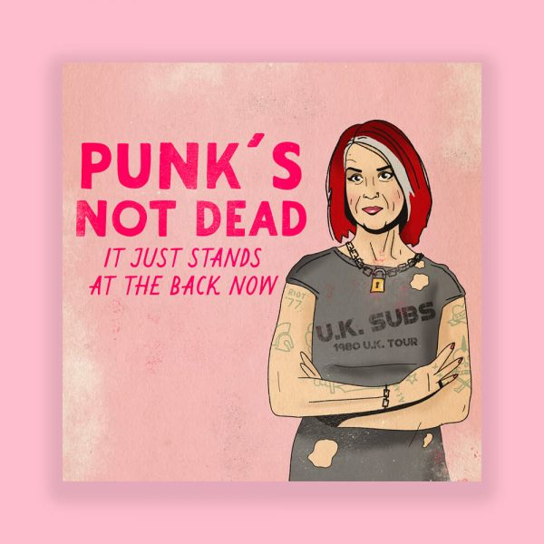 Punk's Not Dead by HECreative