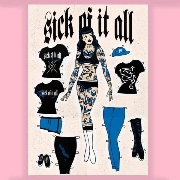 Sick Of It All Print Collaboration by HECreative