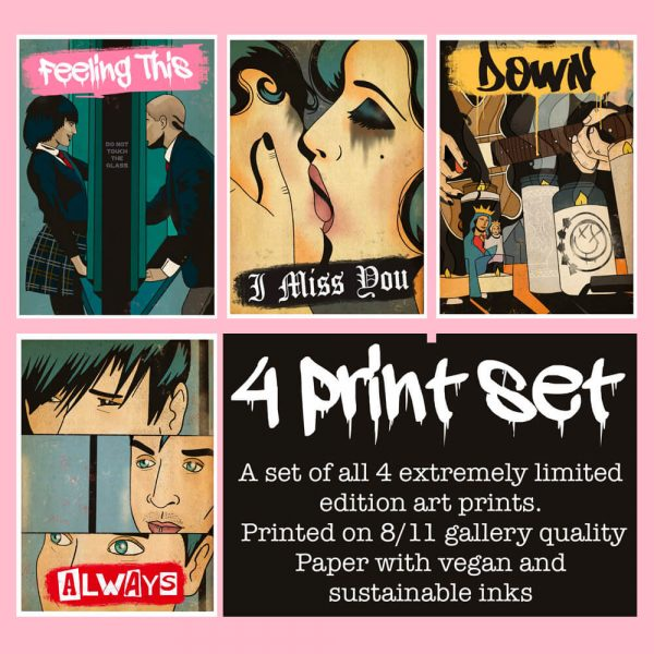 Untitled Blink-182 Print Set by HECreative