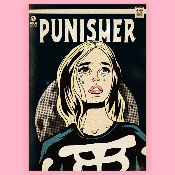 Punisher Print by HECreative