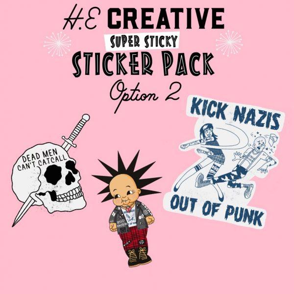 HECreative Sticker Set